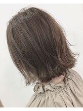 ラック バイ キキ(LUCK by kiki)アプリエカラー×アッシュベージュ