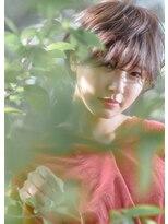 オゥルージュミュゼ(Aurouge)【aurouge musee柳瀬香里】リラクシーショート/アッシュベージュ