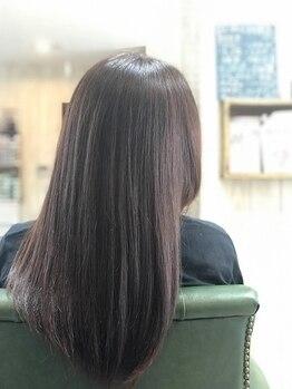 ニコプラス(NICO+ Hair Nail&School)の写真/生え際や髪から透けて見える地肌でお悩みの方へ最新のヘッドスパ剤!髪と根元のボリュームUP、育毛促進も◎