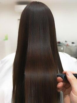 プリンシプル(PRINCIPLE)の写真/縮毛すると髪が傷む…そんな概念を変える【次世代縮毛矯正】ダメージを感じないさらツヤヘアが手に入る◇