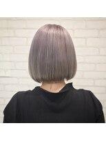 ビス ヘア アンド ビューティー 西新井店(Vis Hair&Beauty)ホワイトラベンダー/ラベンダーアッシュ/ボブ/ミニボブ/小顔