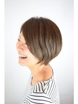 ヘアーシーク(HAIR chic)の写真/初めてのグレイカラーもお任せ!白髪が気になり始めたらご相談下さい♪