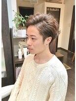 オムヘアーツー (HOMME HAIR 2)ハイトーン.透明感,外国人風カラー.Hommehair2nd櫻井