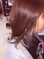 ヘアーメイク カリユ(HAIR MAKE kariyu)パープルインナーカラー