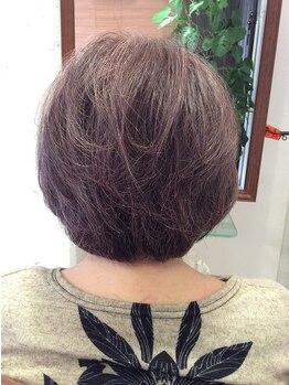 サヴォイアンジュ(SAVOY ange)の写真/【大曽根◆森下】天然成分100%のお肌に最も優しいカラー!トリートメント効果で髪の艶とハリコシを実感♪