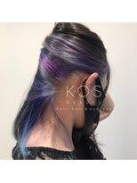 ケーオーエス(KOS beauty hair, nail & eyelash)ギャラクシーインナーカラー
