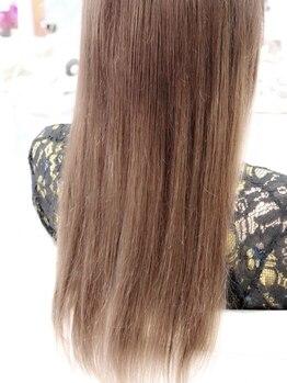 ヘアサロン ブランチ(Hair salon Branch)の写真/【上乃裏】最高級100%人毛で驚くほど自然に馴染むシールエクステ!エクステで賢くイメチェン♪