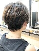 エトネ ヘアーサロン 仙台駅前(eTONe hair salon)30代からオススメのキレイ目ショートボブ