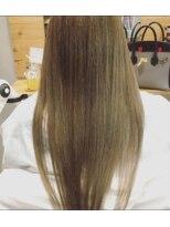 グロウ ヘアデザイン(Grow HAIR DESIGN)#サラつや#ストレート
