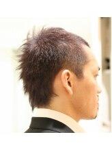 チル アウト ヘア ロジック(chill out hair Logic)バックスタイルがクールなデザインショートヘアー