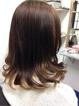 ヘアーラウンジ ローゼスセカンド(Hair Lounge ROSES 2)グラデメッシュカラー