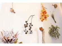 アズーラ 本山(AZURA)の雰囲気(オシャレなドライフラワーや植物で快適な癒し空間。)