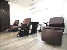 グレイス ヘア デザイニング(GRACE hair designing)の雰囲気(フルフラットの半個室空間で極上のリラックスタイムを☆【足利】)