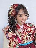 着物ヘア/ポニーテール成人式・卒業式Anスタイル【仙台D】SATOMI