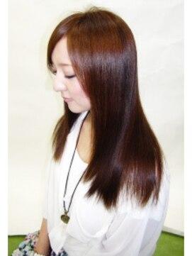 縮毛矯正専門店 ヘアーデザインリンク 八王子(Hair Design Link)トリートメント縮毛矯正。