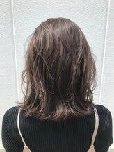ポッシュ 原宿店(HAIR&MAKE POSH)グレージュハイライト