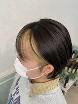 ヘアーサロン リアン 熊谷2号店(hair salon Rien)フェイスフレーミング×ブリーチ抜きっぱなし♪