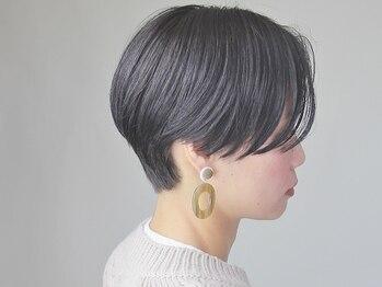 ヘアーサロン リベット(hair salon Libett)の写真/似合わせを重視したオーダーメイドカット♪毛質やくせも見極めてくれるから悩みも魅力に変わるスタイルに!