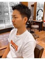 アイリーヘアデザイン(IRIE HAIR DESIGN)【IRIE HAIR赤坂】メンズビジネスマン×ワイルドアップバング