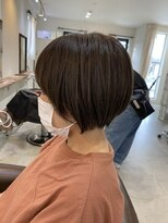 エトワール(Etoile HAIR SALON)ショートから伸ばし中 ショートボブ