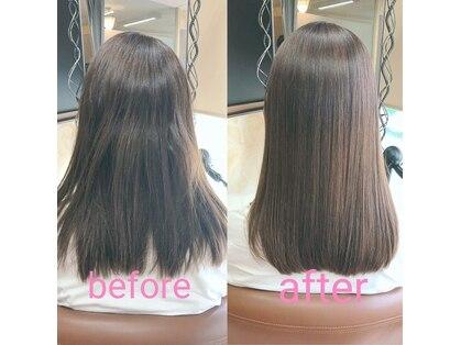 美容室髪結の写真