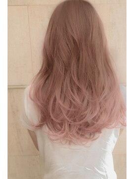ヘアー ピープル(Hair People) 色素薄めのクリアグラデーション グレージュ
