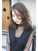 アマカ ヘアライフ(amaca hair life)amaca♪艶っぽ色っぽスロウカラー甘めのアッシュ系スタイル