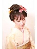 【Laetus/大和西大寺】日本髪