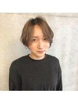 ツミキ ヘアーデザイン(TSUMIKI hair design)エアリーショート