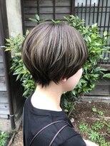 コレット ヘアー 大通(Colette hair)☆オリーブハイライト×ショートヘア☆