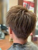 ヘアメイク グラント(HAIR MAKE GRANT)アッシュカラー+デザインカット