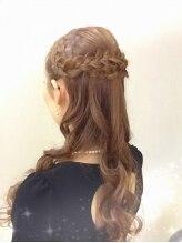 シュクルヘアデザイン(Sucre hair design)【Sucre】大人可愛い♪ハーフアップ
