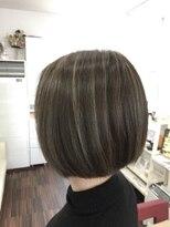 ヘアーデザイン キャンパス(hair design Campus)【Rブリーチハイライト☆】バッチリ♪クールハイライトMIX