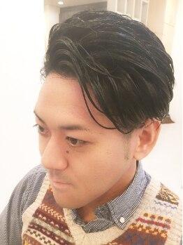 ヘアーサロン イルア 北越谷(hair salon I'LUNA)の写真/オシャレ男性必見♪『ビジネスマンスタイル』『刈上げスタイル』『ツーブロックスタイル』何でもおまかせ!