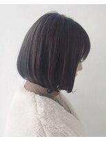 エトワール(Etoile HAIR SALON)ワンカール/シンプル/ボブ/地毛風カラー