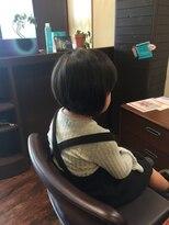 【JOUIR HAIR】キッズカット☆前下がりボブ