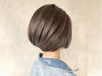 プログレス 田無店(PROGRESS)の写真/暗くなりすぎない話題の絶対的艶髪、透明感の白髪染めを実現!明るめの色味も叶うと大好評◎
