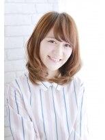 美髪デジタルパーマ/バレイヤージュノーブル/クラシカルロブ/728