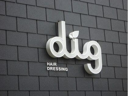 ディグ ヘアドレッシング(dig HAIRDRESSING)の写真