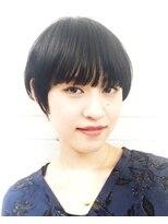 シータ(sheta)【小顔になれる】黒髪大人かわいいブルージュショート◎三畑賢人