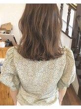 レジスタヘアーワークス (REGISTA hair works)ブリーチなしでつくるミルクティベージュ