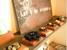 ヘアーデザインサロン ベル(hair design salon Belle)の雰囲気(かわいい手作りの小物も販売しています♪)