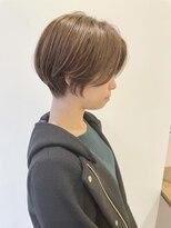 アテナ 六本松店(ATENA)ながめの前髪くびれシルエット ハンサムショート ATENA川本