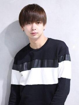 リップス 渋谷(LIPPS)軽くないのに透け感のある前髪【シースルーマッシュ】