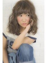 1001ミル ヘアーメイク プラス カフェ(1001 mille hairmake+cafe)ツイストウェーブ☆甘めバング☆[1001mille]