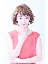 エール 梅田(aile Total Beauty Salon)アプリコットアンニュイボブ