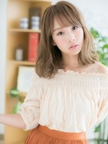 【錦糸町美容院Agate】透け感♪レトロな切りっぱなしセミディa