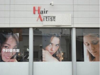 ヘアーアーティスト(HairArtist)の写真