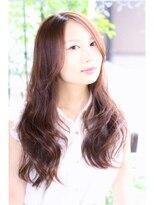 ヘアーデザイン リント(hair design Rinto)35歳以上の大人ロング美肌カラー艶ピンクベージュ