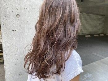 """ボトムス(BOTTOMS)の写真/完全アルカリ除去で上質な艶カラーを実現♪BOTTOMSだからできる""""髪が喜ぶカラー""""【髪質改善/渋谷】"""